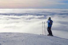 sciare con i social network