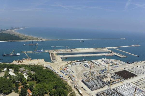 Il MOSE, Bocca di porto di Malamocco (Venezia)