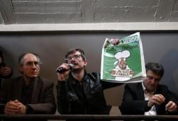 Presentazione ultimo numero di Charlie Hebdo - Fonte ANSA
