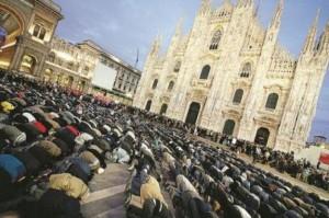 Ramadan e musulmani al Duomo di Milano