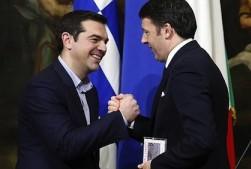 Tsipras e Renzi
