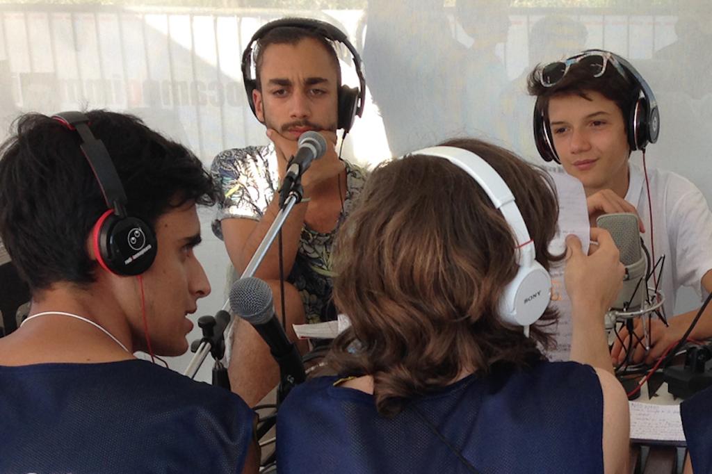 adolescenti lavoro radio immaginaria