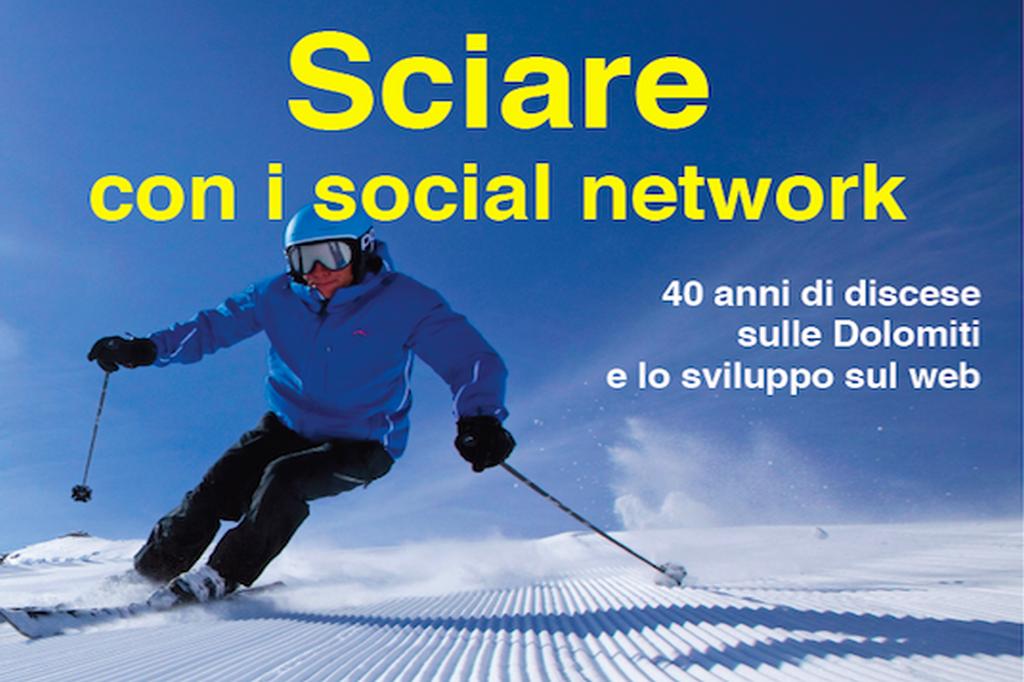 sciare con i sociel network